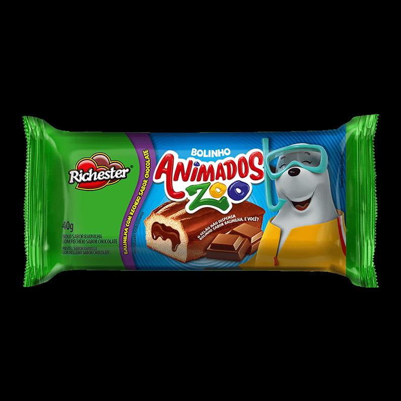 Bolinho de Baunilha com Chocolate