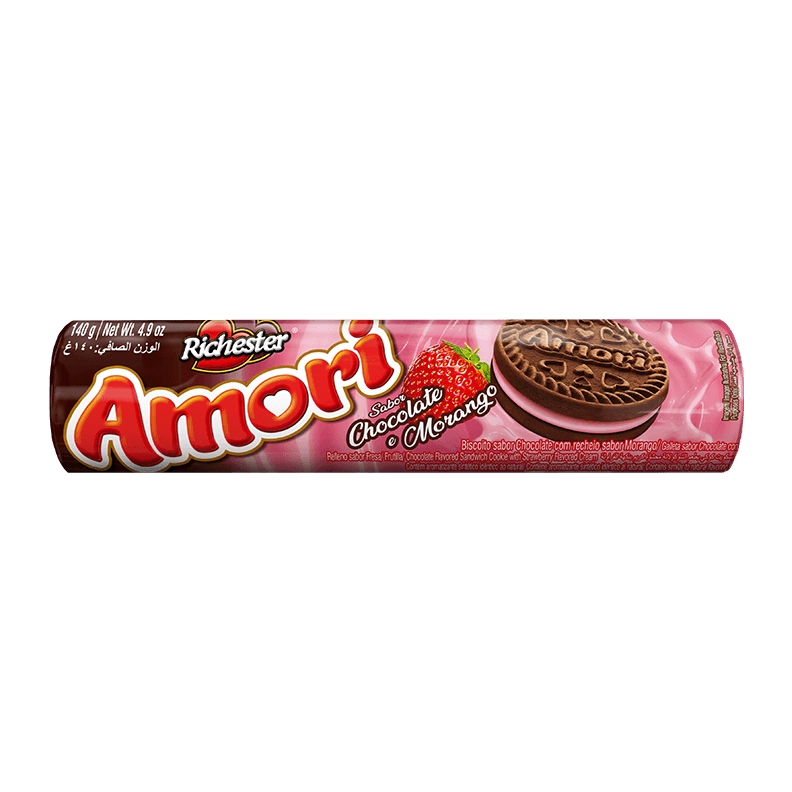 Chocolate Recheado com Morango
