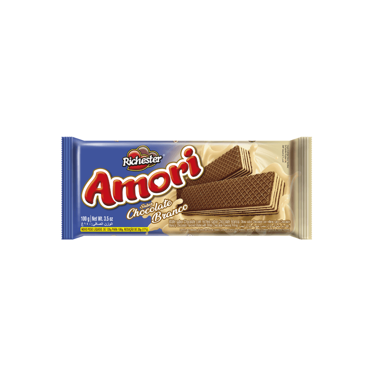 Wafer Chocolate Branco