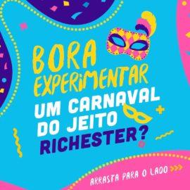 Já que o carnaval de 2021 vai ser diferente, nada melhor do que aproveitar o melhor...