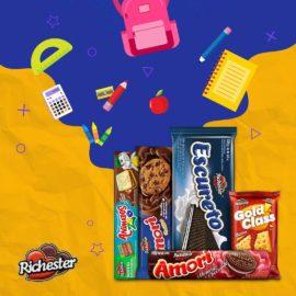 Quem aí está com saudade da escola? Bora marcar os amigos que dividiam os biscoitos da...